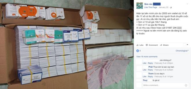 SIM rac 10.000 dong van duoc ban tran lan tren mang hinh anh 1