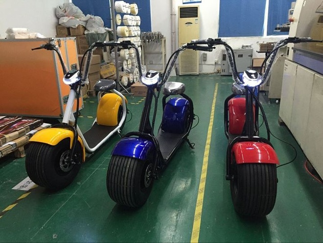 Chieu ban xe dien banh to 449.000 dong/chiec tren Facebook hinh anh