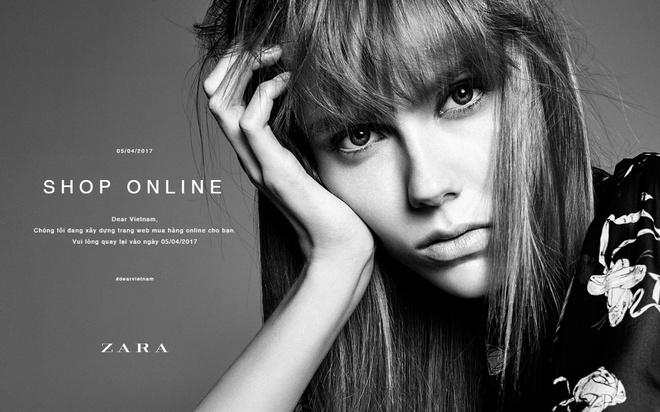Zara Viet Nam chuan bi co shop online hinh anh 1