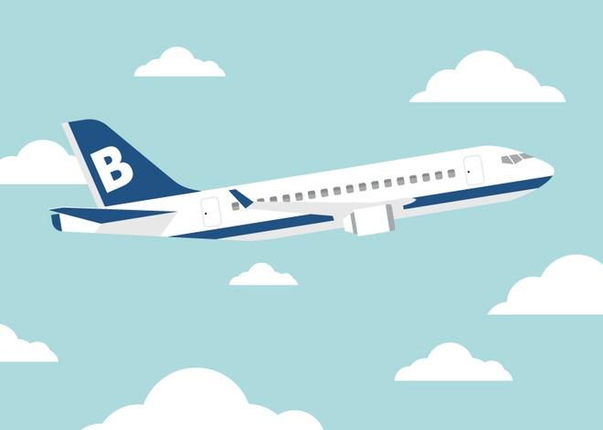 Lam giau tu di thue may bay: Cau chuyen cua B - Airlines hinh anh
