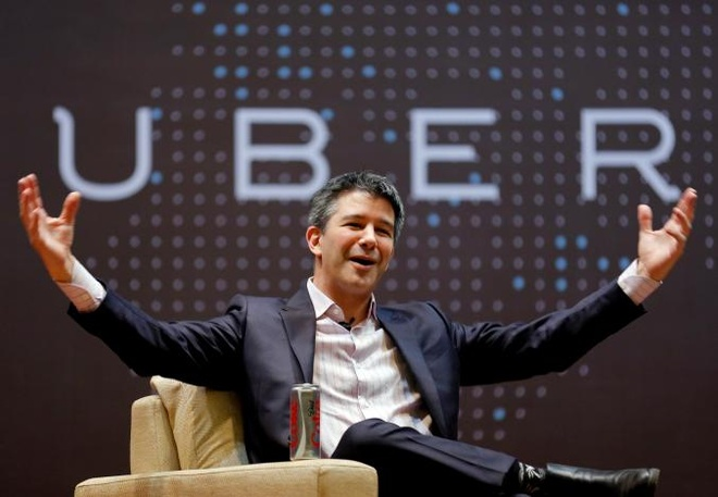 CEO Uber tam roi cong ty, nghi vo thoi han hinh anh 1