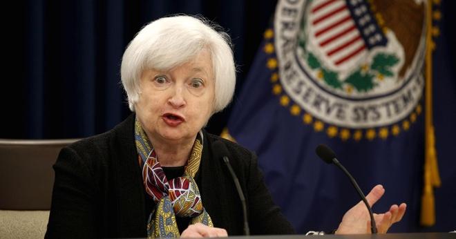 Fed lai tang lai suat them 0,25% du lam phat giam hinh anh