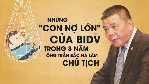 Nhung 'con no' lon cua BIDV duoi thoi ong Tran Bac Ha hinh anh