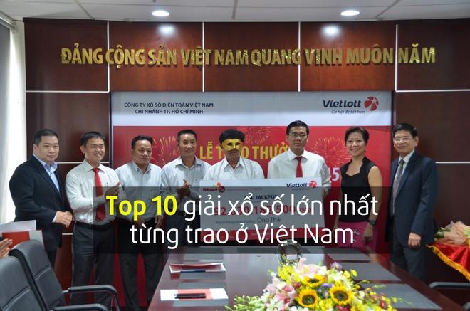 Top 10 giai xo so lon nhat tung duoc trao o Viet Nam hinh anh