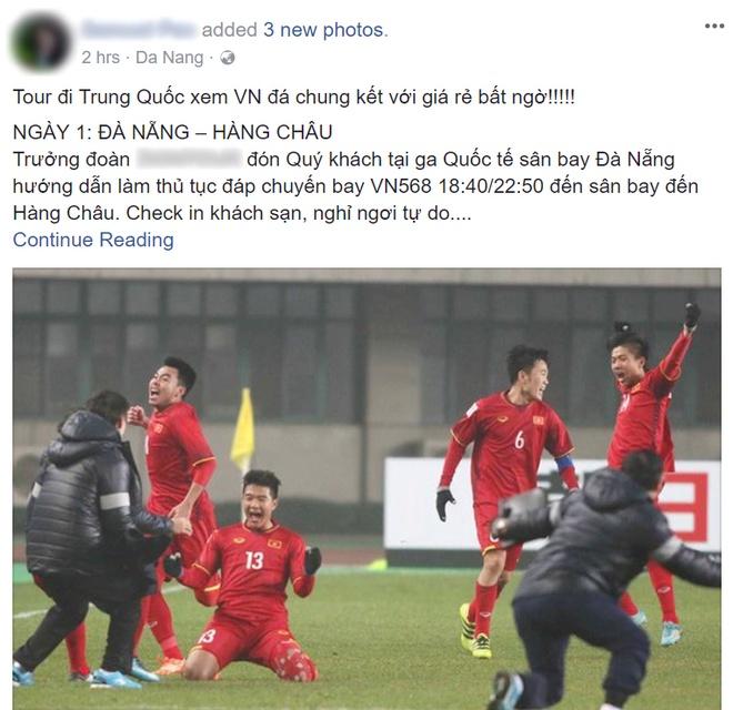 Tour di Trung Quoc cho fan U23 Viet Nam no ro sau tran ban ket hinh anh
