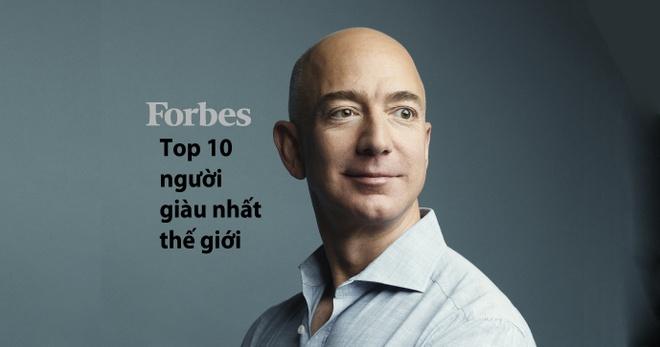 Top 10 ty phu giau nhat the gioi vua duoc Forbes vinh danh hinh anh