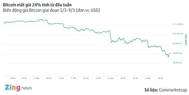 Bitcoin mat gia 24% trong tuan, xuong duoi 9.000 USD hinh anh 1
