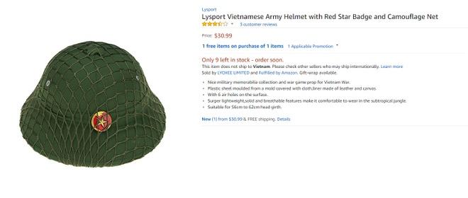 Loat san pham dan da cua Viet Nam tren ke hang Amazon My hinh anh 3