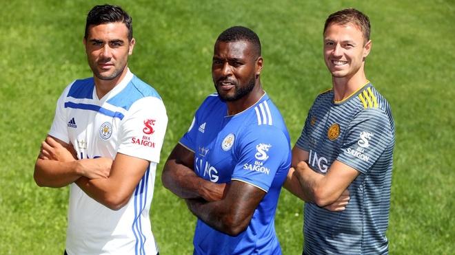 Logo Bia Sai Gon xuat hien tren ao dau moi cua Leicester City hinh anh