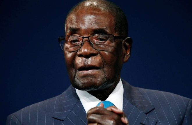 cuu Tong thong Zimbabwe Robert Mugabe anh 1