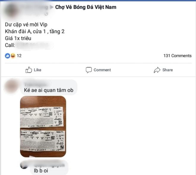 Gia ve tran chung ket van chua ha nhiet, 18 trieu dong cho doi ve