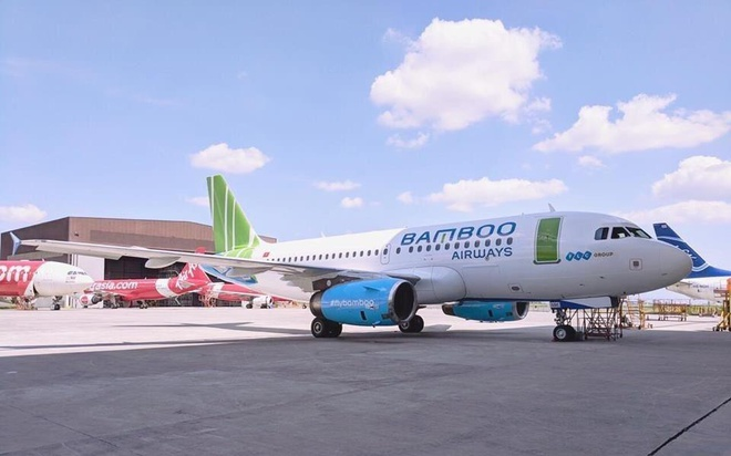Bamboo Airways vua tiep nhan may bay dau tien hinh anh