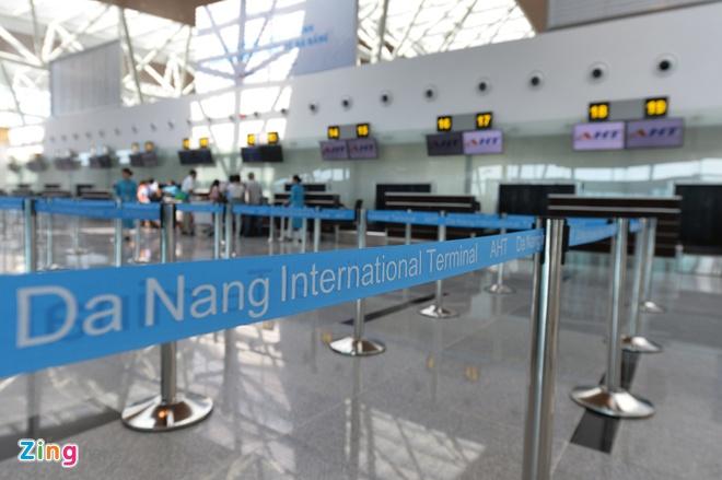 Nhieu chuyen bay tu Da Nang di Han Quoc bi huy hinh anh 1 san_bay_zing_13.jpg  Nhiều chuyến bay từ Đà Nẵng đi Hàn Quốc bị hủy san bay zing 13