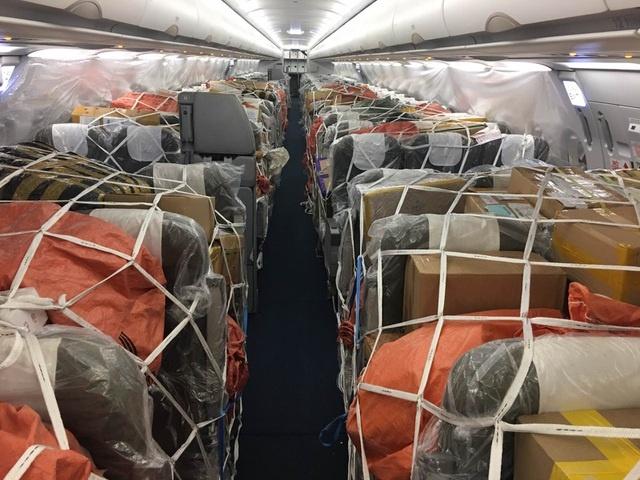 Ngung cho khach toi Viet Nam, may bay chat kin hang hoa hinh anh 1 hvn.jpeg  Ngừng chở khách tới Việt Nam, máy bay chật kín hàng hóa hvn
