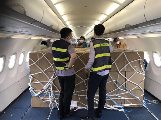 Ngung cho khach toi Viet Nam, may bay chat kin hang hoa hinh anh 2 hvn2.jpeg  Ngừng chở khách tới Việt Nam, máy bay chật kín hàng hóa hvn2