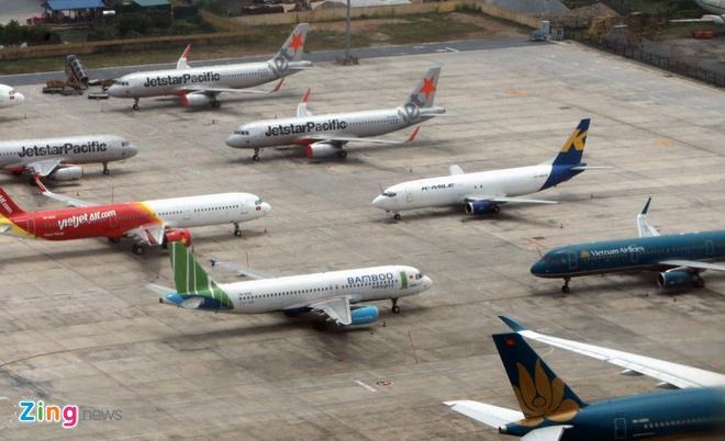 Gia ve may bay noi dia ve muc 'day' nho tang chuyen tro lai hinh anh 1 Noi_Bai_zing_8_.jpg  - Noi_Bai_zing_8_ - Giá vé máy bay nội địa về mức 'đáy' nhờ tăng chuyến trở lại