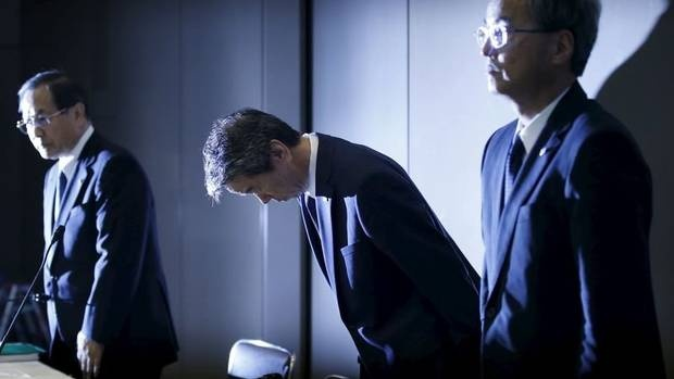 CEO Toshiba tu chuc do sai pham ke toan 1,2 ty USD hinh anh 1