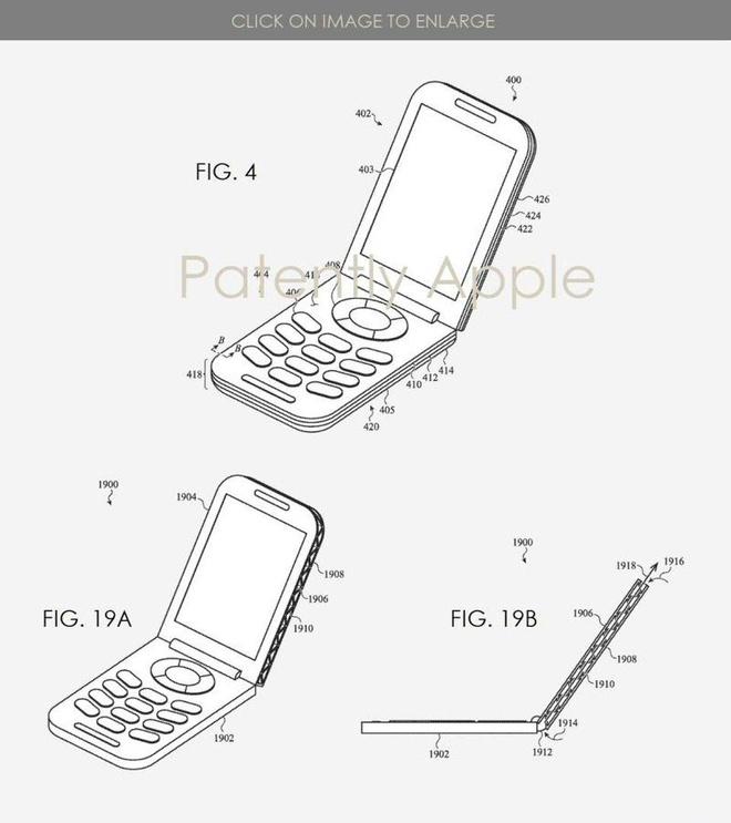 Cụ thể bằng sáng chế mà Apple đã đăng ký. Ảnh: Forbes.
