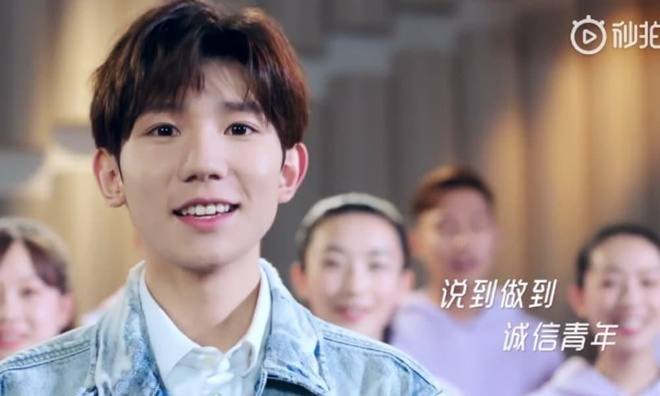 Video tuyen truyen 'tin dung xa hoi' cua Doan Thanh nien Trung Quoc hinh anh