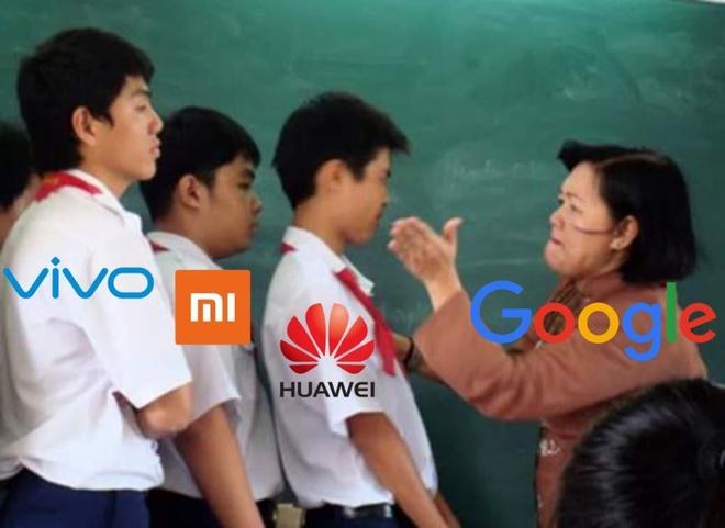 anh che Google cam Huawei,  meme Huawei anh 7