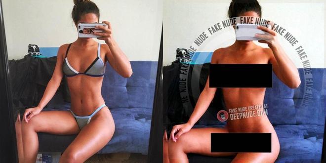 Xuất hiện app 'xuyên thấu' quần áo dựa trên công nghệ deepfake