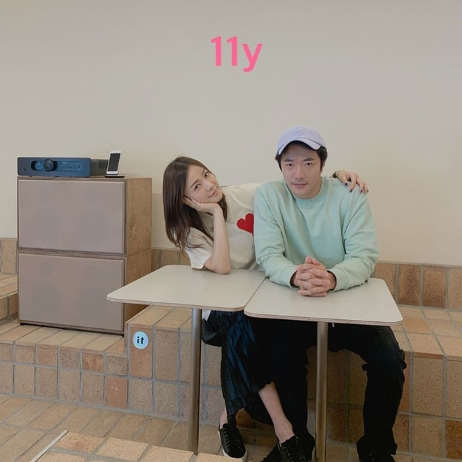 Vo chong Kwon Sang Woo ky niem 12 nam cuoi anh 3