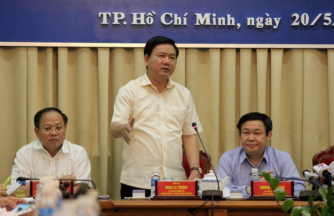 Ong Thang: Ha Noi co cao toc o cac cua ngo, TP HCM cha co gi hinh anh 1