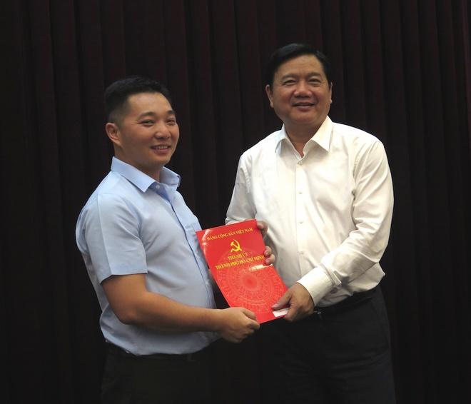 Ong Le Truong Hai Hieu tham gia Ban chap hanh Dang bo TP HCM hinh anh
