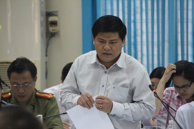 Nguyen Chu tich Hoc Mon sua bao cao, lam sai quy hoach huyen hinh anh