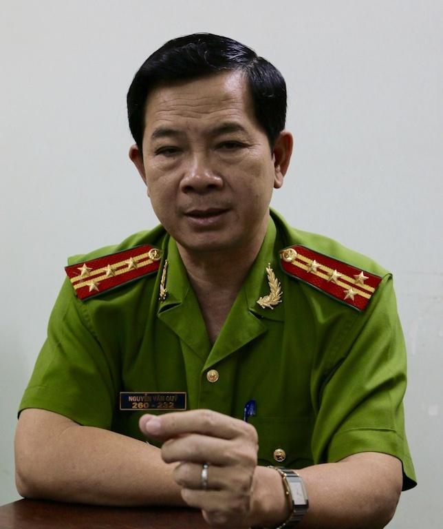 Vu ca phe Xin Chao: Cach chuc truong Cong an Binh Chanh hinh anh 1