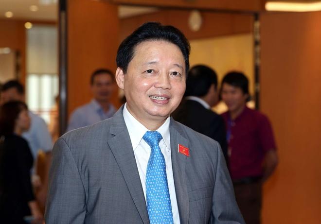 Bo truong TN&MT: Bien mien Trung da an toan hinh anh