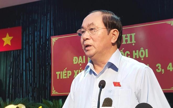 Chu tich nuoc: Rut kinh nghiem toan dien sau vu viec o Dong Tam hinh anh