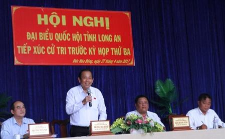 Pho thu tuong: Thu hoi dat dai can boi thuong thoa dang cho dan hinh anh 1