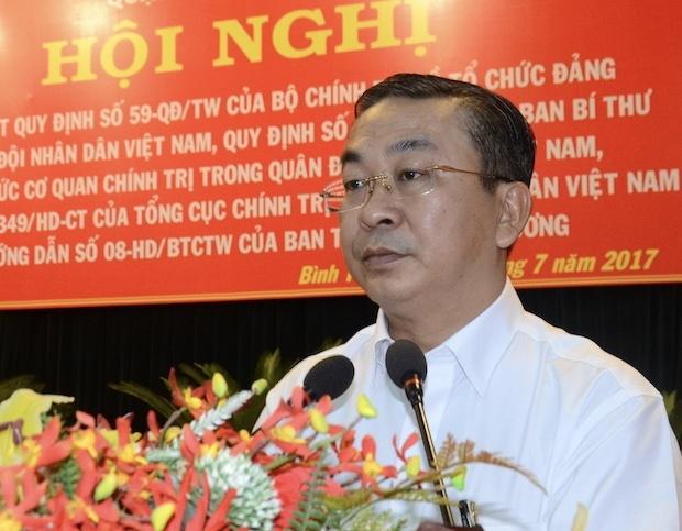 TP.HCM: Bi thu Quan uy Binh Tan bi ky luat hinh anh 1