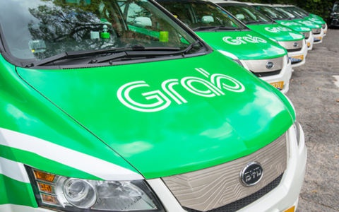 Tai xe Grab, Uber o Sai Gon bi phat hon 600 trieu hinh anh