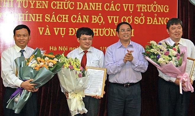 Ban To chuc Trung uong bo nhiem 3 vu truong moi qua thi tuyen hinh anh