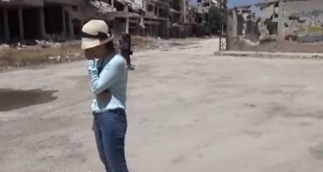 Nha bao Le Binh: 'Toi khong dien kich o Syria' hinh anh 2
