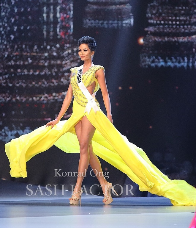Philippines dang quang Miss Universe, H'Hen Nie lap ky tich Top 5 hinh anh 3