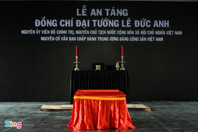Dai tuong Le Duc Anh da vao long dat me hinh anh 3