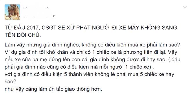 'Nen xu phat xe khong chinh chu som hon' hinh anh 2