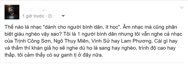 'Can loi khi noi nhac Vinh Su danh cho nguoi it hoc' hinh anh 2
