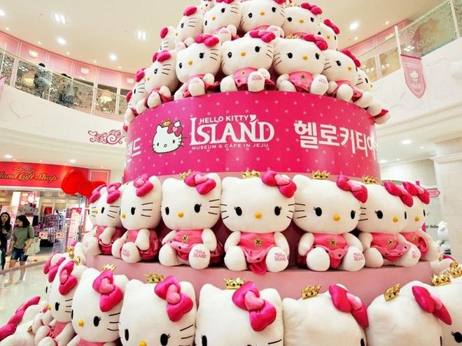Co gi trong dao Hello Kitty o Han Quoc? hinh anh
