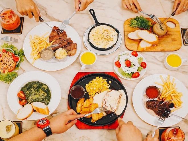 4 nha hang steak 'dat xat ra mieng' cuon hut hoi sanh an o TP.HCM hinh anh