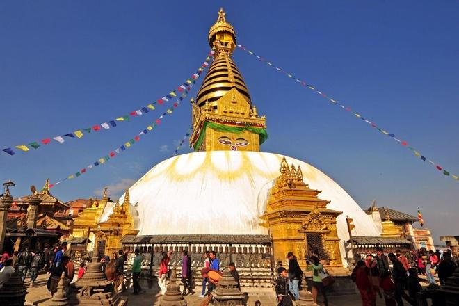 Thung lung Kathmandu linh thieng hut khach hanh huong o Nepal hinh anh