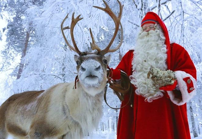 Dac san thit tuan loc o que huong ong gia Noel hinh anh 1