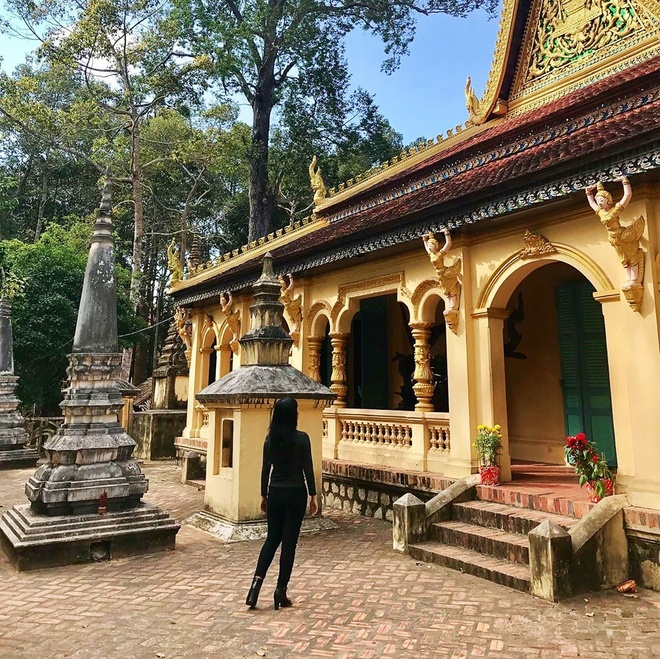 7 ngoi chua Khmer noi tieng mien Tay hinh anh 6