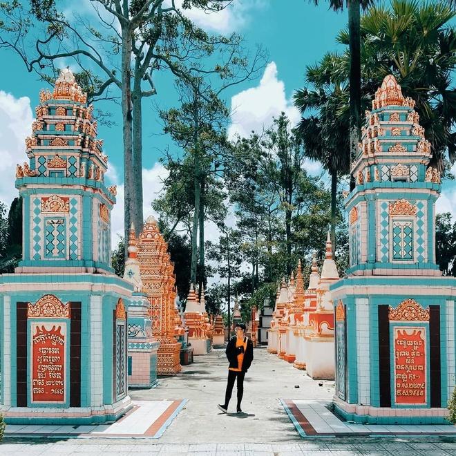 7 ngoi chua Khmer noi tieng mien Tay hinh anh 1