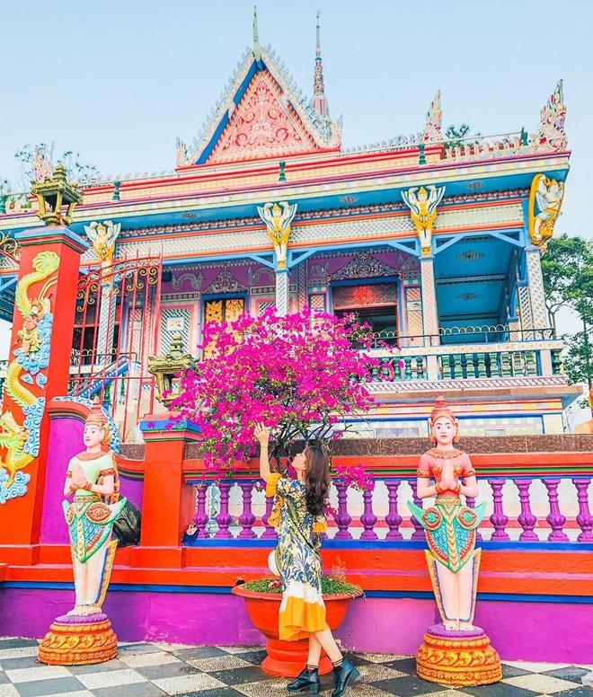 7 ngoi chua Khmer noi tieng mien Tay hinh anh 4