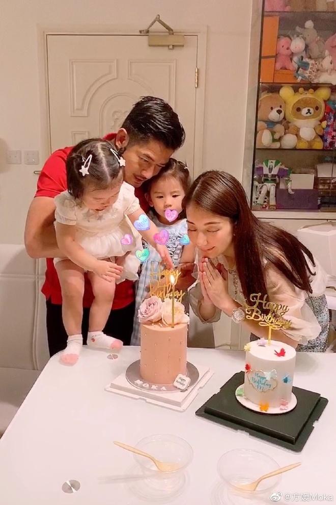 Quach Phu Thanh ngot ngao ben vo con anh 1