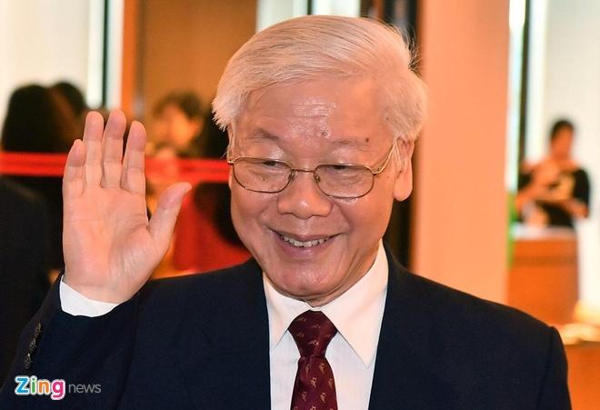 Cac nuoc gui dien mung TBT Nguyen Phu Trong duoc bau lam Chu tich nuoc hinh anh